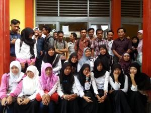 Foto peserta  UNPK di SMKN Lemahabang