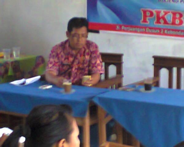 Bapak A.Taryadi,S.Pd. Penilik PAUDNI Kecamatan Greged