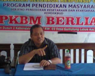 Bapak Waryo,S.Pd.M.Pd. Pengawas TK/SD di UPT Pendidikan Kecamatan Greged